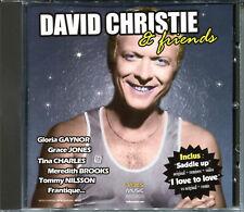 DAVID CHRISTIE & FRIENDS - BEST OF AND REMIXES - CD ALBUM (1487)