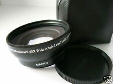 BK 52mm 0.45X Wide-Angle Lens FOR Panasonic DMC FZ200 FZ300 FZ330 FZ62 FZ60
