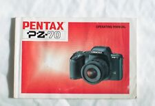 Pentax PX-70 Camera Instruction Manual