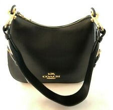 New Authentic Coach F76695 Leather Jes Hobo Shoulder Bag Handbag Purse Black