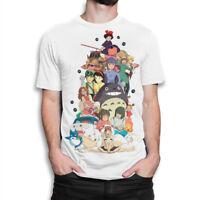 Studio Ghibli Combo T-shirt, Hayao Miyazaki Anime Tee, Men's Women's All Sizes