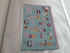 Grandma birthday Card BNIP