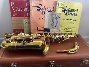 1950 Selmer SBA Alto saxophone super action aka super balanced action