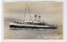 "TUR ""DUCHESS OF ARGYLL"": Clyde Steamer postcard (C31826)"