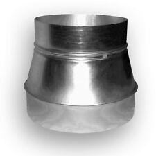 Reduzierung handgefertig 355 mm / 315 mm für Wickelfalzrohre Aluflex