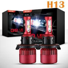 Pair H13 252W CREE Hi-Lo Beam LED Headlights Bulbs Kits Driving Lights 120W HID