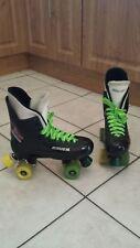 Bauer Turbo original roller boot skates fits size 5,6,7