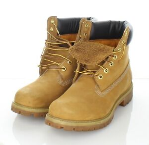 "21-21 NEW $170 Men's Sz 9.5 M Timberland 6"" Premium Nubuck Leather Boot In Wheat"