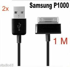 2x OEM Samsung Tab7.0 7.7 8.9 10.1 P1000 P7510 USB Charger Data Cable