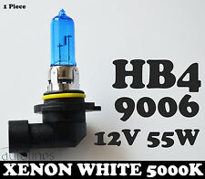 1x HB4 9006 55W 12V Xenon White 5000k Blue Car Headlight Lamp Globes Bulbs HID