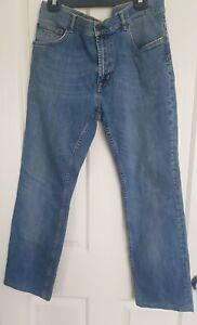 GANT Tyler Mens Denim Jeans Blue Lower Waist Straight Leg Regular W36 L36