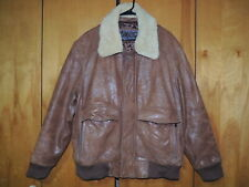 Mens LARGE - MARC New York ANDREW MARC LINED LEATHER JACKET