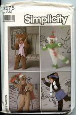 Bear Costumes - Men & Women - Simplicity Sewing Pattern - Small (32-34) - New