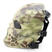 Camouflage Ghost Tactical Full Face Mask Paintball Skull Halloween Cosplay