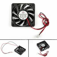 1Pcs DC Brushless Cooling Fan 12V 0.18A 6010B 60x60x10mm 2 Pin CPU Computer UK