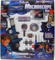 MICO SCIENZE - DELUXE MICROSCOPIO - SET da 66 pezzi