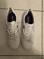 NEW MENS NÁUTICA WHITE LACE SNEAKERS (11)