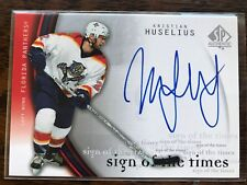 2005-06 SP Authentic Sign of the Times Kristian Huselius Florida Panthers #KH
