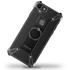 Nillkin Barde cassa in lega di serie con anello di supporto per Apple iPhone 8/7-Nero