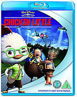 Chicken Little [Blu-ray], New, DVD, FREE & FAST Delivery
