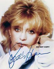 GOLDIE HAWN 8X10 AUTHENTIC IN PERSON SIGNED AUTOGRAPH REPRINT PHOTO RP