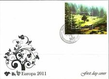 Kosovo Stamps 2011. EUROPA CEPT. Forests. FDC Block MNH