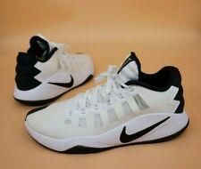 Nike Hyperdunk Low Basketball Shoes White Black Men's Sz 9.5 Shoes ~ 844363-100