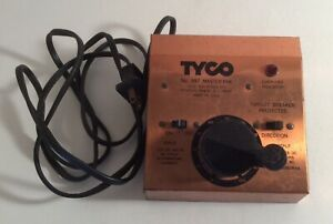 Tyco 897 Master Park Train Transformer AC/DC 0-12 VDC 16v AC