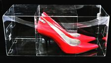 Stiletto Clear Shoe box by Shoebby (Pack of 9 Boxes)