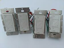 Set of 4 White Caséta Wireless In-Wall Dimmer PRO PD-10NXD