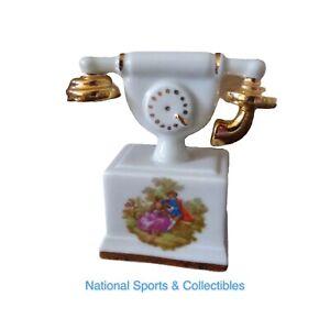 Limoges Miniature Poupée Téléphone