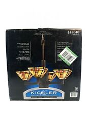 Kichler Mission Fields 4 Light Chandelier Bronze Finish 143040