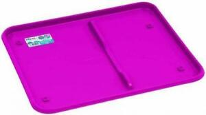 Kitchen Accessories-Fuchsia Pink Large Dish Drainer Tray