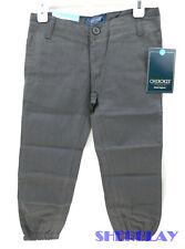 Nwt Cherokee Boys Uniform Twill Jogger Pant With Adjustable Waist Size 4
