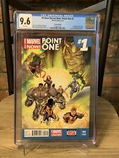 All-New Marvel Now Point One 1- CGC 9.6 2nd Print! 1st Full Appearance Kamala!
