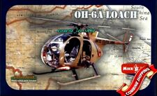 Mikro Mir 48-001, AMP 401 OH-6A Loach Light Attack Helicopter Plastic Kit 1/48