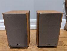 Sony Ss-Cex1 Surround Bookshelf Speakers Wood Finish Tested Set of 2