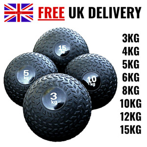 Slam Ball No Bounce 2-15kg Fitness Gym Bounce Strength Crossfit Boxing Exercise