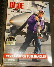 "G.I. JOE NAVY AVIATION FUEL HANDLER SOLDIER 12"" FIGURE"