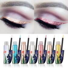 Diamond Metallic Glitter Shimmer Makeup Liquid Eyeliner Eyeshadow Pigment Set