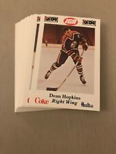 1985-86 NOVA SCOTIA OILERS AHL POLICE TEAM SET