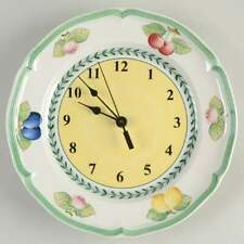 Villeroy & Boch FRENCH GARDEN FLEURENCE Clock Plate Handcrafted 3509414