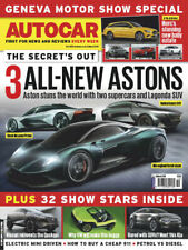 AUTOCAR MAGAZINE 6 - 13 MARCH 2019 (3 NEW ASTONS, MERC'S NEW BABY ESTATE) NEW