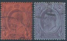 Handstamped Edward VII (1902-1910) British Postages Stamps