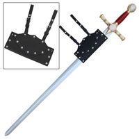 Tylers Jewel Masonic Foam Templar Knights Sword Frog Combo