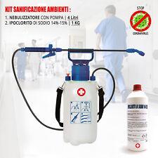 Disinfettante Ambienti Nebulizzatore Sanificatore Anti Batterico Casa Ufficio