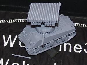 Flames Of War USA 1/100 Sherman T34 Calliope Tank 15mm FREE SHIPPING