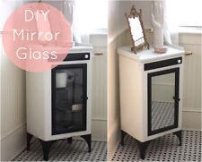 "Faux Mirror Self Adhesive Reflective Film  Peel and Stick Sheet 36"" W x 72"" L"