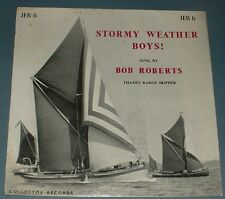 BOB ROBERTS stormy weather boys 1960 UK COLLECTOR MONO FOLK PS EP
