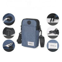 1x Outdoor Sport Pack Utility Fanny Phone Pouch Belt Shoulder Bag Running Hiking